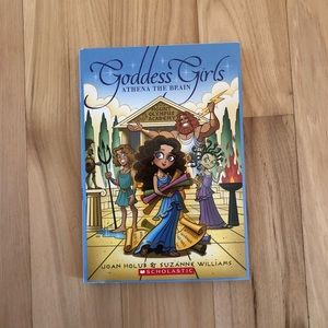 Goddess Girls Athena the Brain book 1